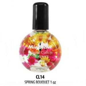 CL-14 SPRING BOUQUET M.S. NATURAL CUTICLE 30ML./1OZ
