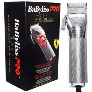 BABYLISS MAQUINA SILVER - X880