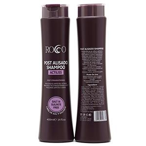 ROCCO SHAMPOO 400ML. POST ALISADO