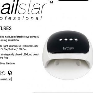 NAILSTAR LAMPARA UV / LED SUN 4 - 52W.