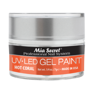5S-814 M.S. GEL PAINT HOT CORAL 5GR.