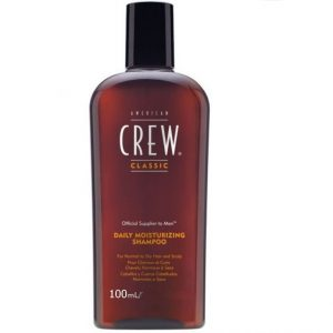 A. CREW DAILY SHAMPOO 100ML.