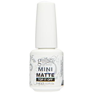 GELISH TOP COAT 9ML. - MATTE TOP IT OFF