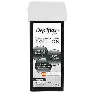 DEPILFLAX CERA ROLL-ON 100GR. NEGRA