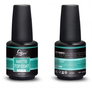 LOVEYES TOP COAT 15ML. - MATTE