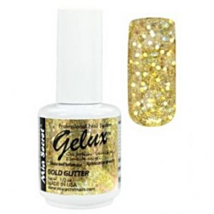 GP-149 M.S. GELUX G.P. 15ML. GOLD GLITTER