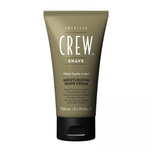 A. CREW MOISTURIZING SHAVE CREAM 150ML