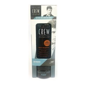 A. CREW KIT GET THE LOOK DAILY SH. + FIBER