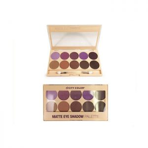 CITY COLOR MATTE EYE SHADOW PALETTE X 10