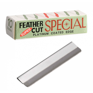 HOJAS AFEITAR FEATHER SPECIAL - 10 PCS
