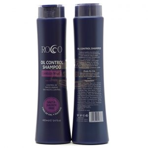 ROCCO SHAMPOO 400ML. - OIL CONTROL