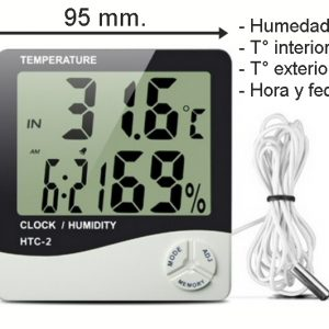 THERMOHIGROMETRO DIGITAL - HTC-2