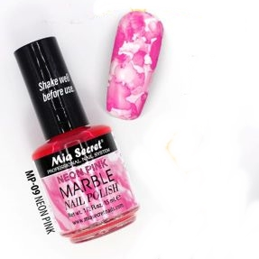 MP-09 M.S. MARBLE. 15ML. - NEON PINK